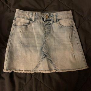 Girl's Light jean skirt